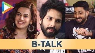 B-talk | Aamir Khan's reaction Pataakha | Shahid on Hrithik vs Tiger | Abhishek trolls Anurag - HUNGAMA