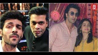 Karan Angry On Rumours Of Signing Kartik Aaryan | Ranbir's Special Plans For Alia Bhatt - ZOOMDEKHO