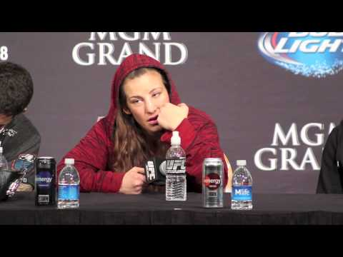 Miesha Tate Talks About Loss to Ronda Rousey (UFC 168 Post Press Conference)