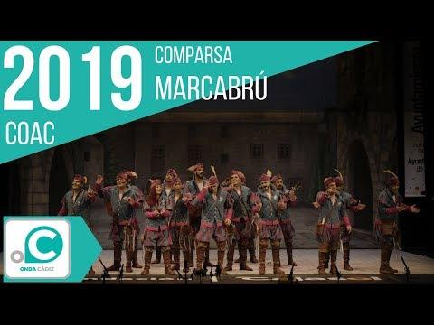 Sesión de Preliminares, la agrupación Marcabrú actúa hoy en la modalidad de Comparsas.
