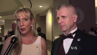 Two Pre-Inaugural Balls Reflect Two Sides of America - VOAVIDEO