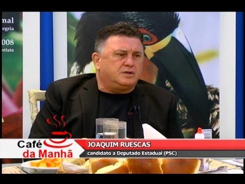 TV Costa Norte - Café com Joaquim Ruescas - candidato a Deputado Estadual (PSC)