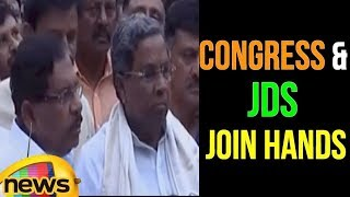 Congress And JD(S) Party Join Hands To Defeat BJP | Karnataka Elections 2018 | Mango News - MANGONEWS
