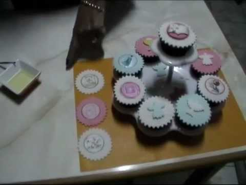 Video Cupcake Para Primera Comunion