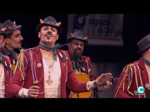 La agrupación Vengo a por ti llega al COAC 2020 en la modalidad de Comparsas. En años anteriores (2019) concursaron en el Teatro Falla como No es país para cuerdos, consiguiendo una clasificación en el concurso de Preliminares.