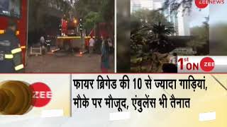 Breaking News: Massive fire at hospital in  Mumbai's ESIC hospital - ZEENEWS