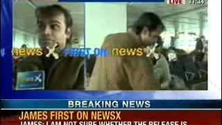 NewsX: Sunil James case - Father returns for son's funeral - NEWSXLIVE