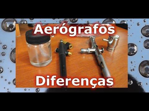 Noções Básicas sobre Aerógrafos: Micro Pintura, Diferenças entre Aerógrafos, Princípios de Uso
