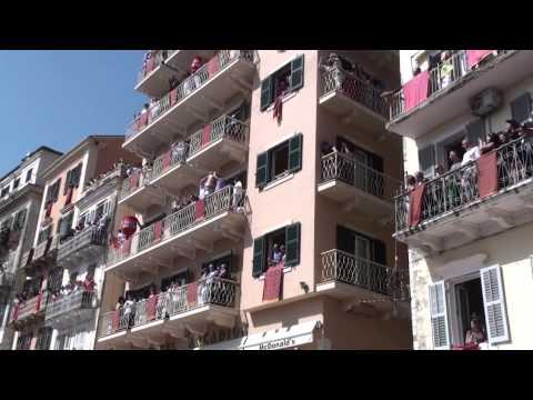 Πάσχα, κανάτια, Κέρκυρα 2013 - Pitchers throwing, Corfu 2013