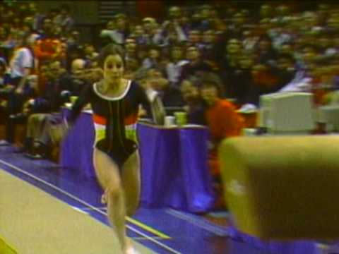 Mary Lou Retton - Vault - 1984 McDonald's American Cup
