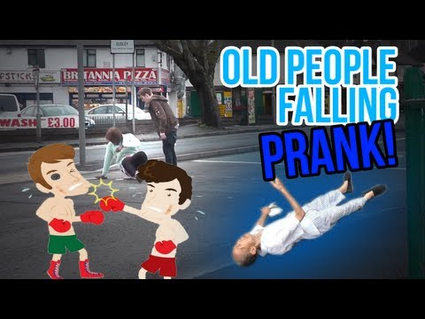 Disrespecting The Elderly! (Original Prank) | TGFbro