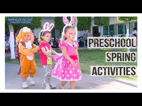 Preschool Spring Activities 2018