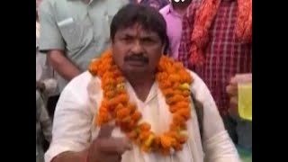 Zuban Par No-Lagam: BSP candidate Guddu Pandit uses abusive words for Congress' Raj Babbar - ABPNEWSTV