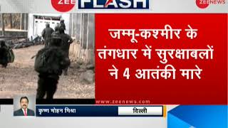 Breaking News: 4 terrorists killed in a gunfight on the LoC after an infiltration attempt foiled - ZEENEWS
