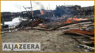 Lagos: Evicted slum-dwellers demand right to return - ALJAZEERAENGLISH