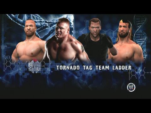 WWE 13 TNA Bound For Glory Lesnar Morgan vs. Ambrose Rollins ECW Belts