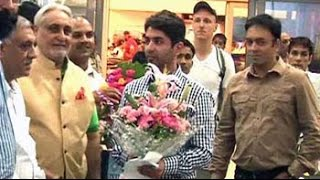 Commonwealth Games 2014: Abhinav Bindra returns home - NDTV