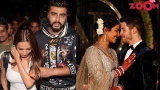 Arjun - Malaika go out on a dinner date | Priyanka - Nick arrive in Mumbai & more - ZOOMDEKHO