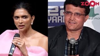 Deepika Padukone on opting out of a film | Sourav Ganguly reacts on Hardik & K L Rahul's controversy - ZOOMDEKHO