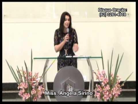 Missionária Angela Sirino - 14/07/2013 - A SEXUALIDADE