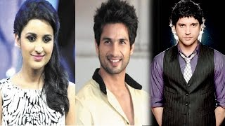 Bollywood News in 1 minute - Shahid Kapur, Farhan Akhtar, Parineeti Chopra