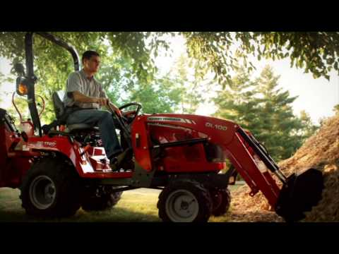 Massey Ferguson GC1700 Series Sub Compact Tractor Introduction