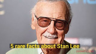 5 Rare facts about Stan Lee | A Tribute to the Marvel Comics Legend - ZOOMDEKHO