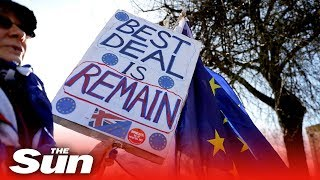 Thousands of remainers march against Brexit in London LIVE - THESUNNEWSPAPER