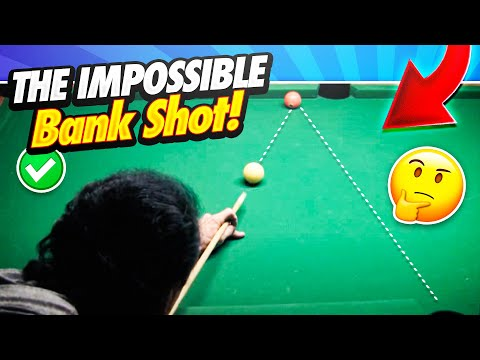 Pool Lessons - The Impossible Bank Shot!  Supercharge Your Game!