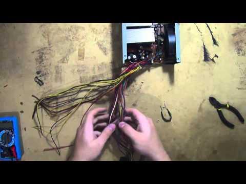 Ligando som de carro em fonte de computador (12v)