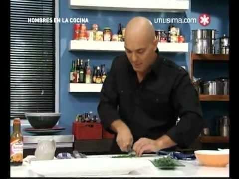 Hombres en la cocina - Santiago Giorgini - Utilisima - 1er programa - (parte 1)
