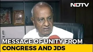 JDS, Congress Work On Unity As Template For Opposition - NDTV