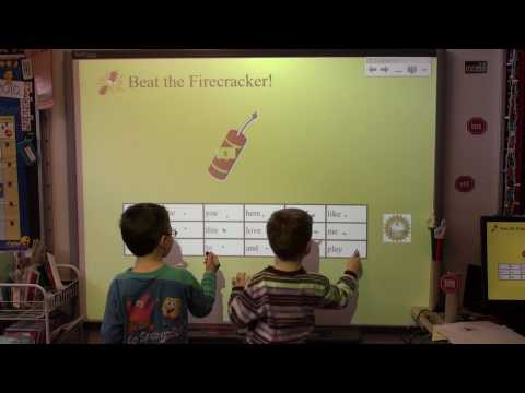 Independent Kindergarten Smartboard Center