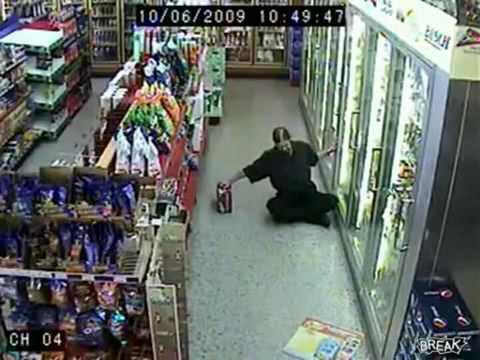 O maior bêbado de supermercado