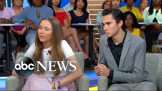 Parkland school shooting survivors David and Lauren Hogg talk about becoming activists - ABCNEWS