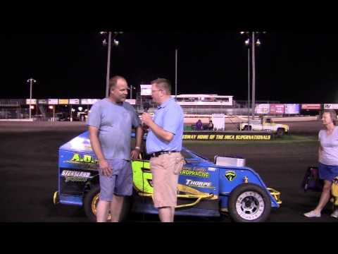 Mike Morrill Mod Lite feature winner 06/22/13