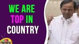 KCR Speech On TS As Largest Cotton Growing State | Telangana Assembly | Mango News - MANGONEWS