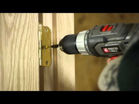 Lifting a Sagging Door : Door Installation & Maintenance