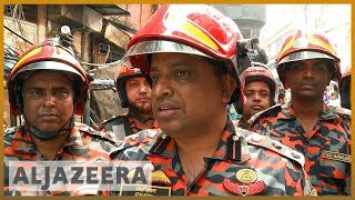 🇧🇩 Dhaka fire: Bangladesh calls off rescue operation l Al Jazeera English - ALJAZEERAENGLISH