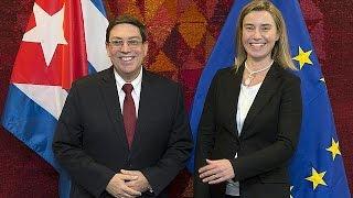 كوبا تحسن علاقتها بالاتحاد الأوروبي