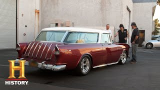 Counting Cars: Danny Struggles to Give Back a 55 Nomad (Season 7, Episode 18)   History - HISTORYCHANNEL