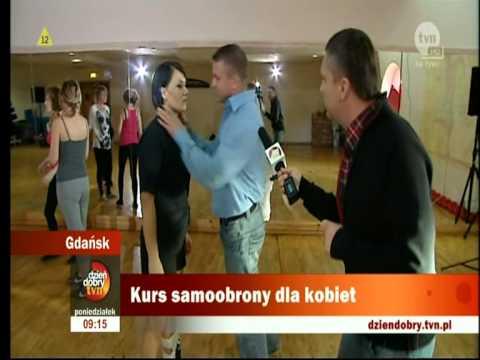 KAPAP Gdańsk Kurs samoobrony dla kobiet Ania&Sławek