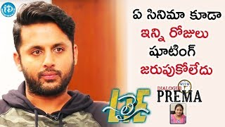 Lie Is The First Tollywood Film To Shoot In Abroad For 75 Days - Nithiin || Dialogue With Prema - IDREAMMOVIES