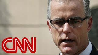 McCabe: Rod Rosenstein offered to wear a wire into White House - CNN