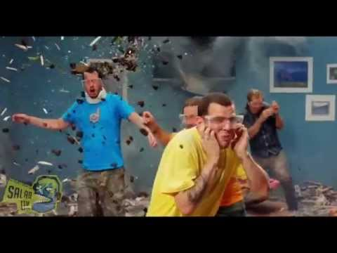 Jackass Explosive Dubstep   RIP Ryan Dunn ( SALAD UK )
