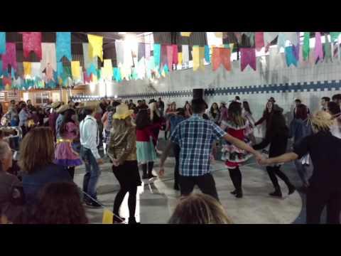 Festa Junina 2016 - Dança com convidados da platéia