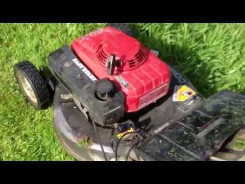 Honda Mower HRA216-SXA leaking carburetor bowl