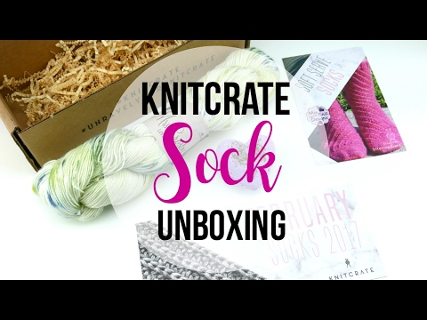 KnitCrate SOCK Unboxing,  Episode 387