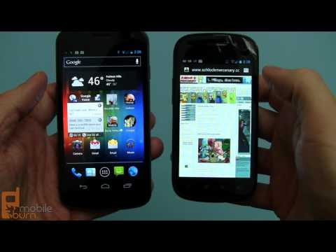 Google Nexus S running Android 4.0.3 Ice Cream Sandwich
