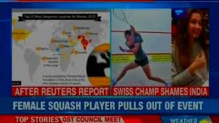 Women Safety Debate: Foreign players shame India; sites 'women safety issues' - NEWSXLIVE